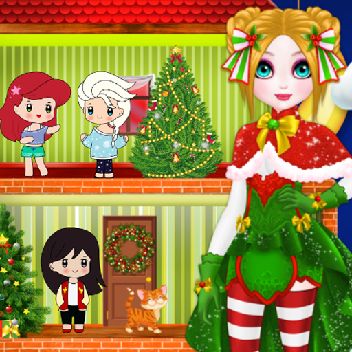 Christmas Puppet Princess House